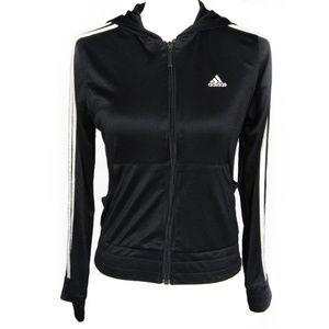 Adidas clima365 crop track jacket size S